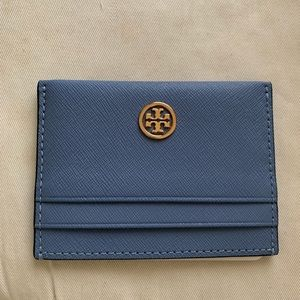 Robinson Leather Card Case TORY BURCH